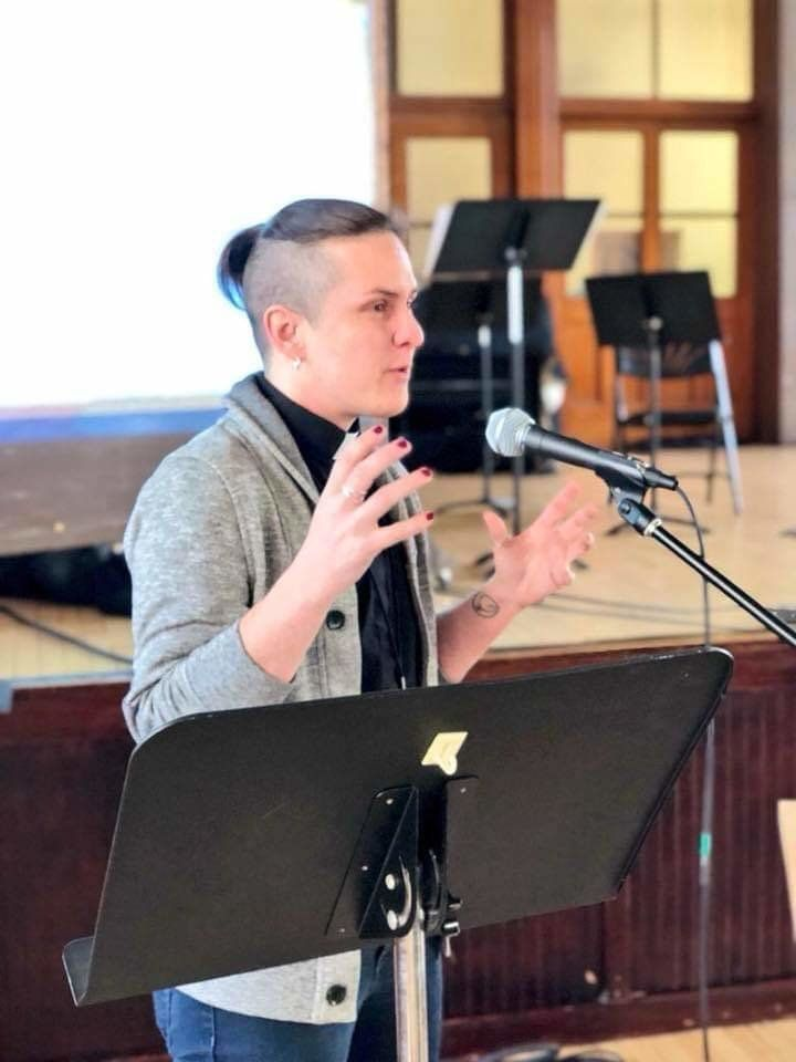 "The Rev.M Barclaywas the <a href=""https://www.huffingtonpost.com/entry/united-methodist-church-transgender-deacon"