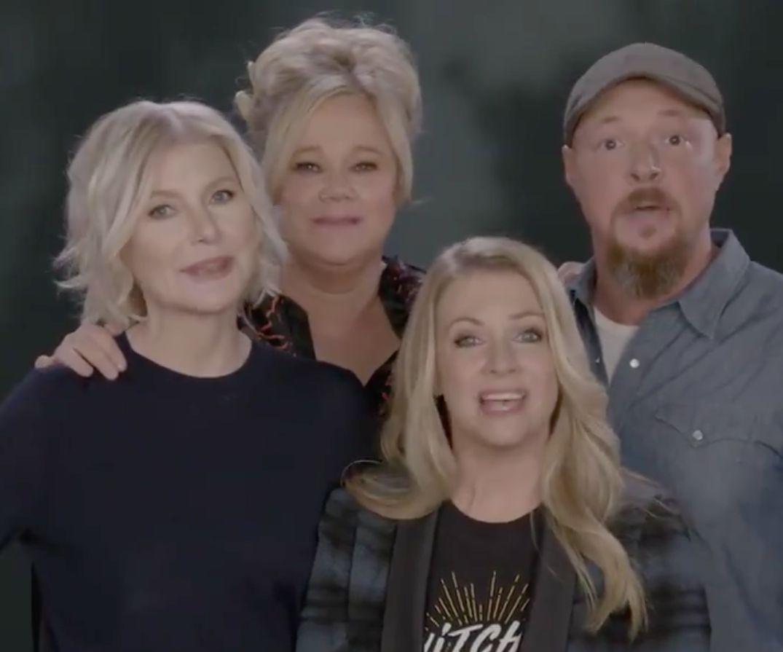 Original 'Sabrina' Stars Reunite To Send New Netflix Show's Cast Their 'Best Witches'