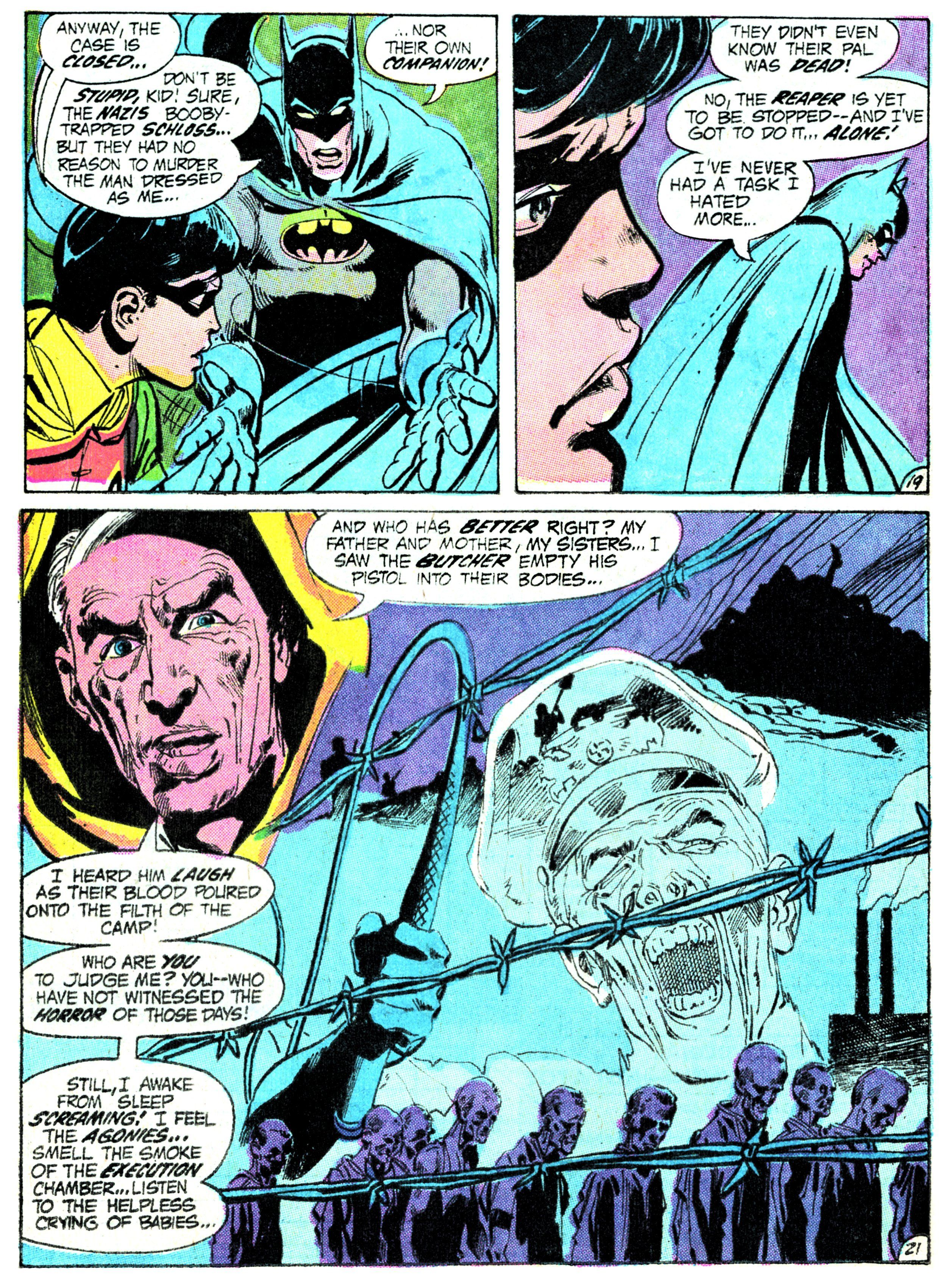 "Batman #237 ""Night of The Reaper,"" from Decembe 1971"