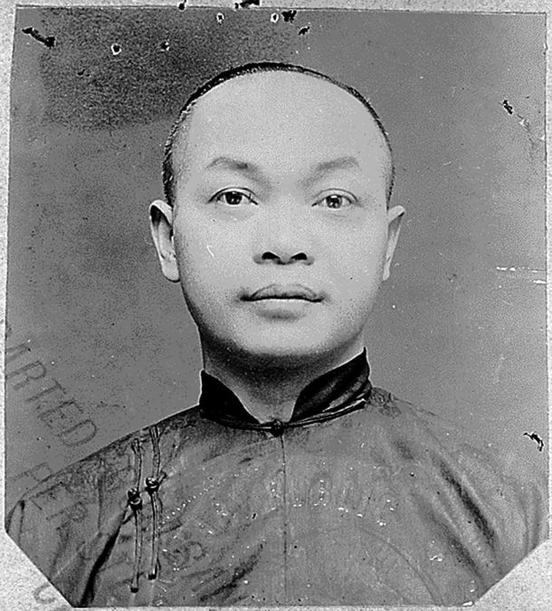 Wong Kim Ark, a cook born in San Francisco, was barred from reentering the U.S. after visiting his parents in China.