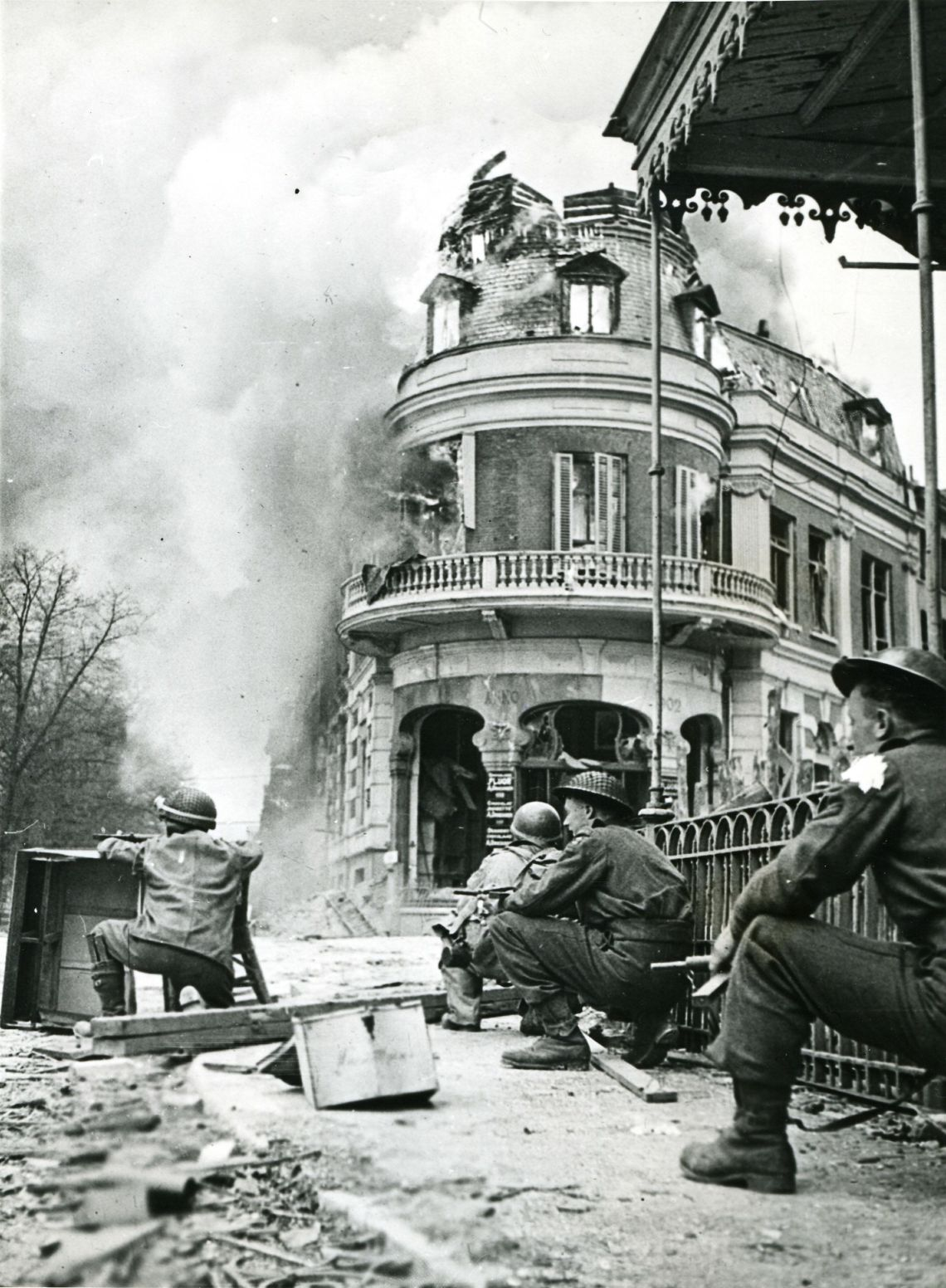 British troops at the Battle of Arnhem