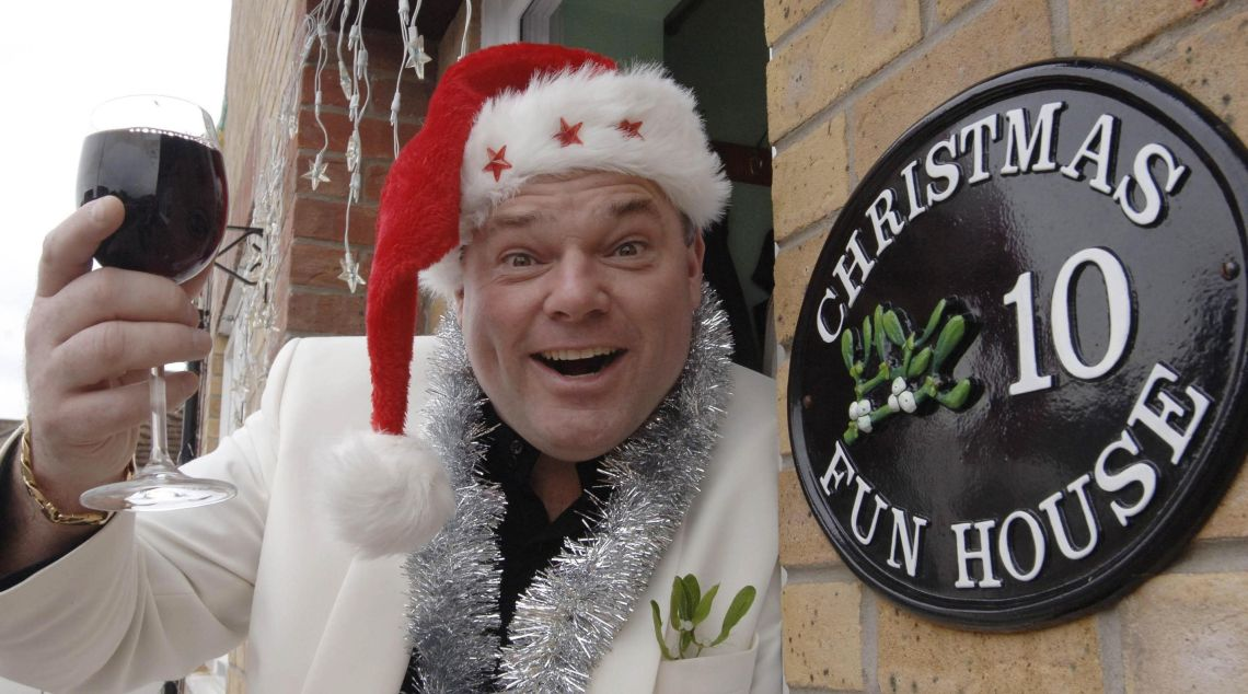 Andy Park is the ultimate Christmas fan. So much so, he celebrates it every day.