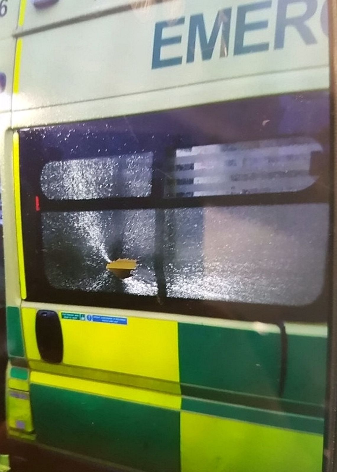 The incident happened last week in the Handworth area of Birmingham.