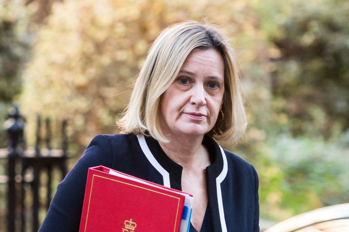 Amber Rudd was home secretary when the Windrush scandal first began hitting headlines
