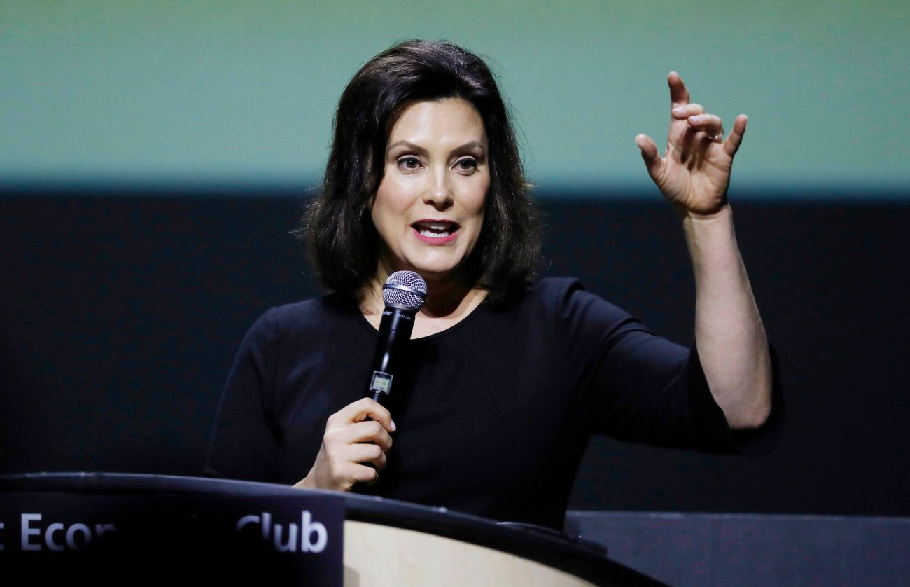 Gretchen Whitmer will take over as Michigan's governor in January.