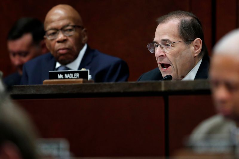 Rep. Elijah Cummings (D-Md.), left, and Rep. Jerry Nadler (D-N.Y.), right, will lead investigations into the Trump administra