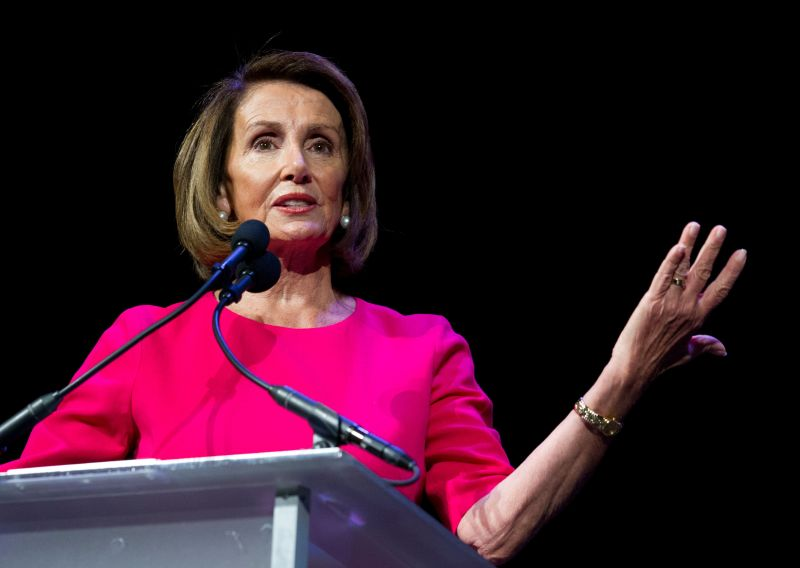 The House elected Nancy Pelosi as speaker on Thursday.