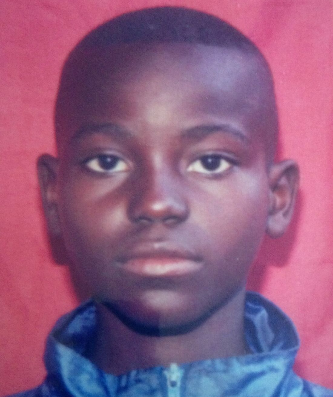 Mardoche Yembi, who is now 27, was abused as a child