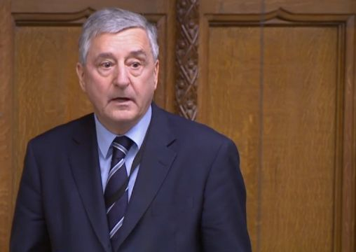 Labour Jim Fitzpatrick in the Commons on Friday