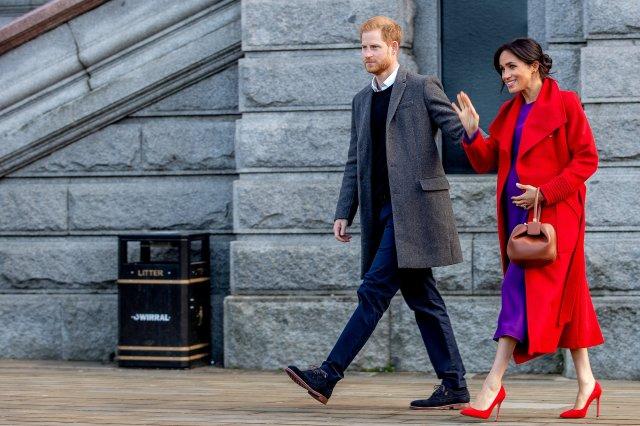 Britain's Prince Harry, Duke of Sussex and Meghan, Duchess of Sussex visit Birkenhead, Britain on Jan. 14. CHARLOTTE GRAHAM/POOL VIA REUTERS