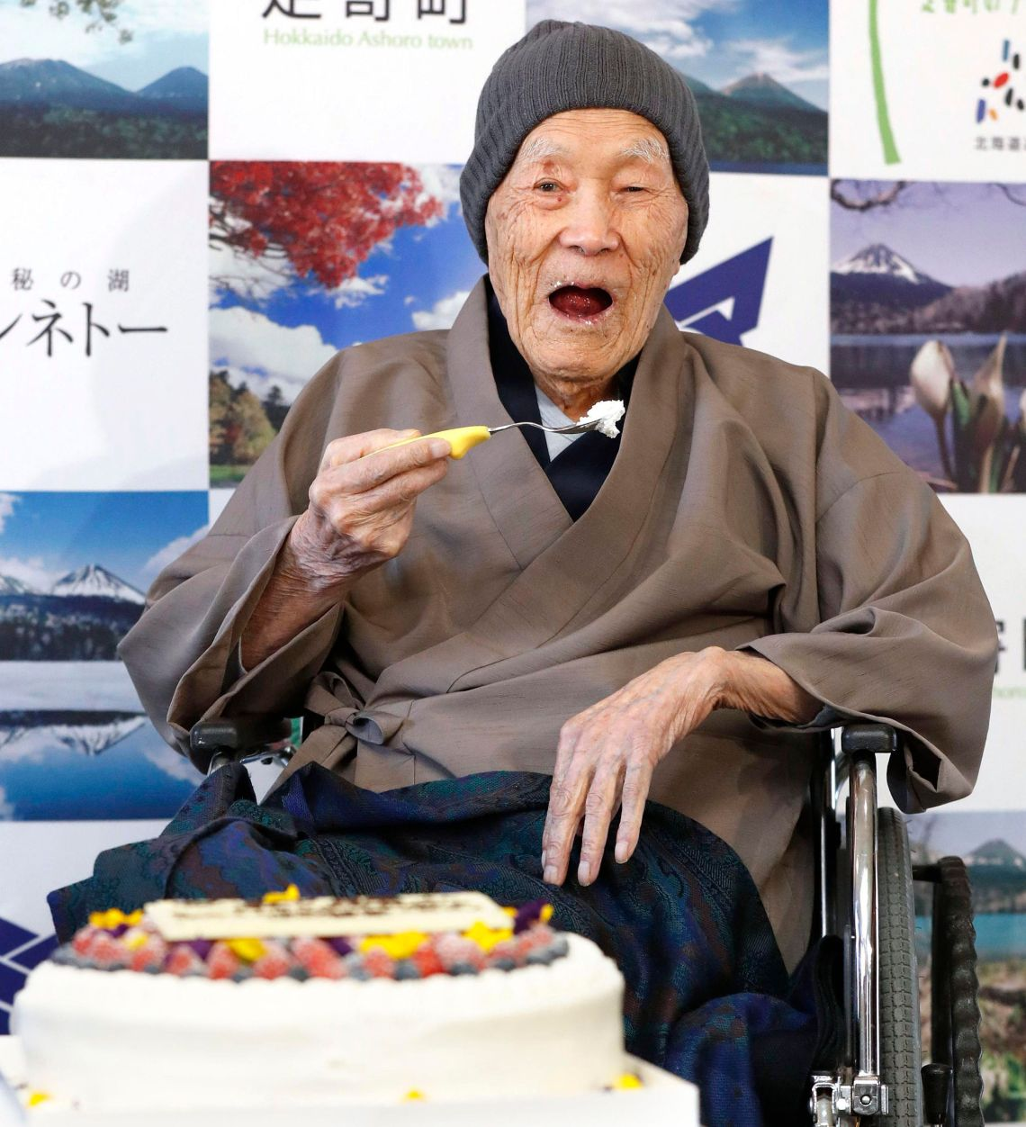 Masazo Nonaka, the world's oldest man has died at the age of 113