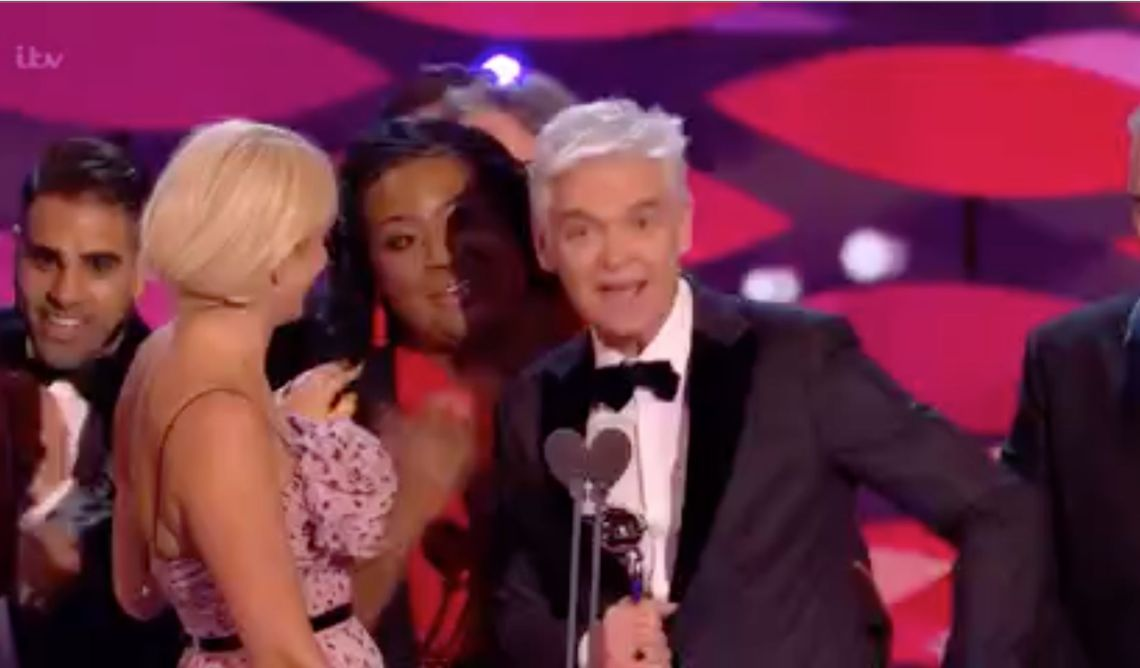 Alison Hammond wanted her moment as the 'This Morning' team picked up another NTA