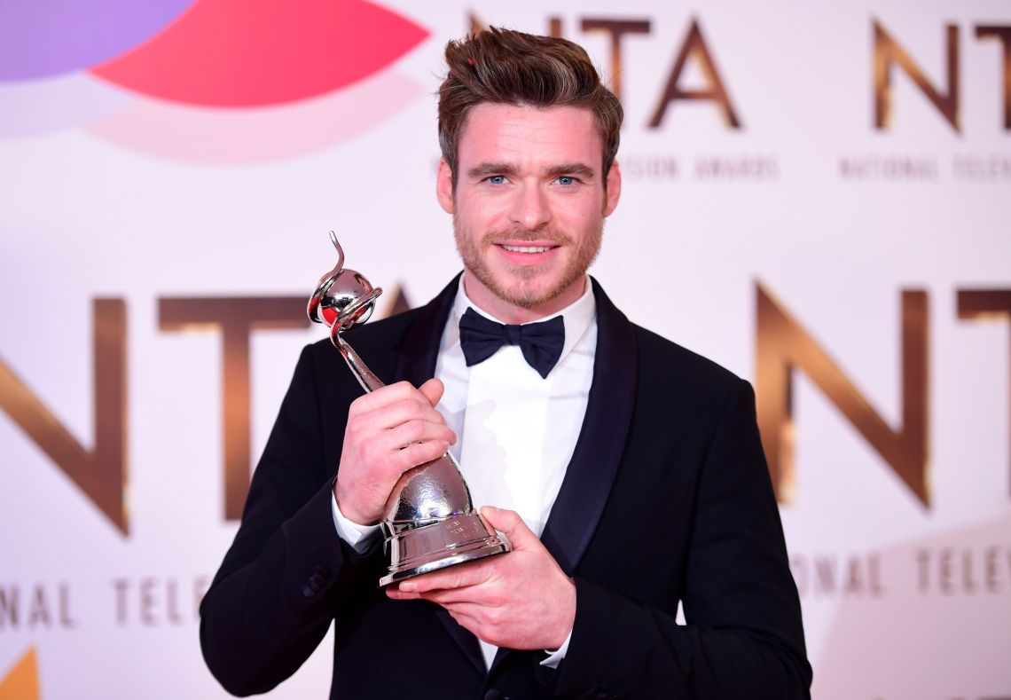 Richard Madden with his NTA