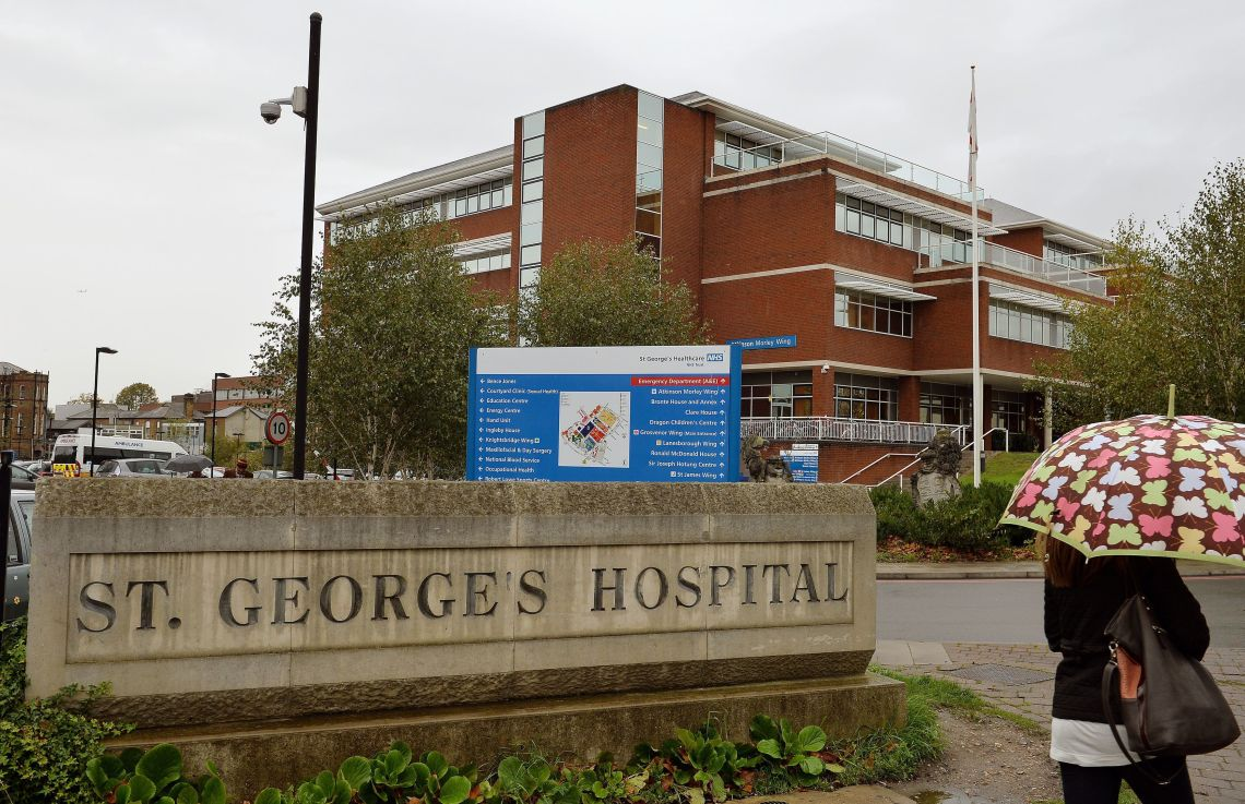 The patients were treated in the cardiac unit at St George's University Hospitals NHS Foundation Trust in London