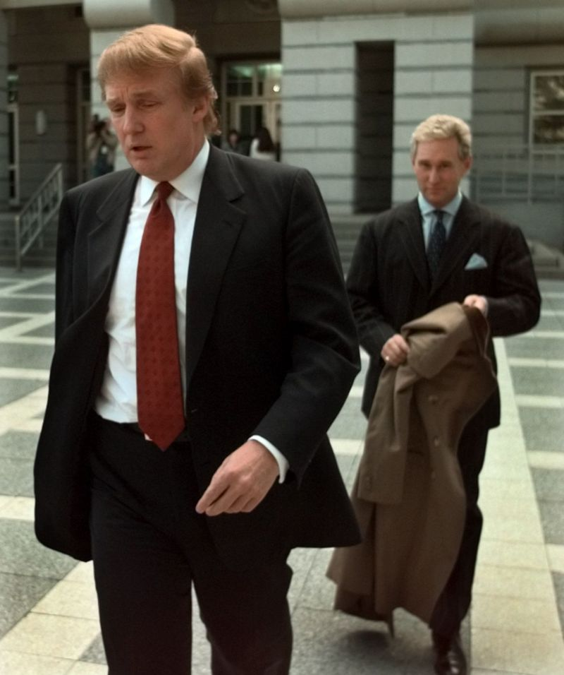 Trump and Stone in 1999.