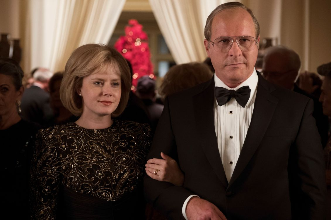"Amy Adams and Christian Bale in ""Vice."""