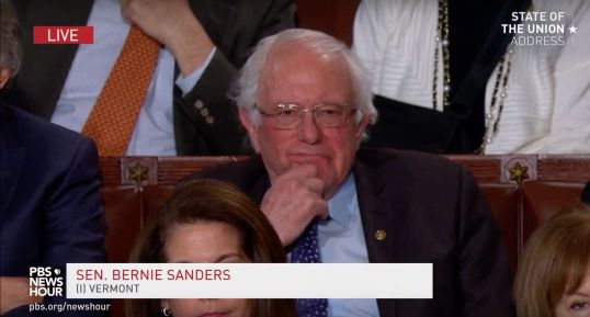 bernie sanders state of the union