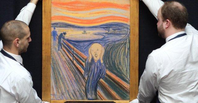 Η «Κραυγή» του Μουνκ και η κλοπή του διάσημου πίνακα σε μόλις 50 ...