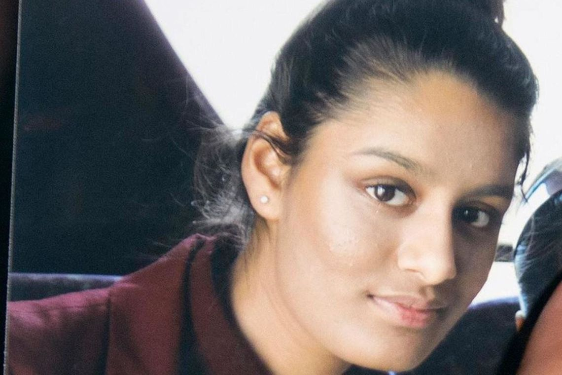 Shamima Begum, now 19, was tracked down by The Times to a refugee camp in northern Syria.