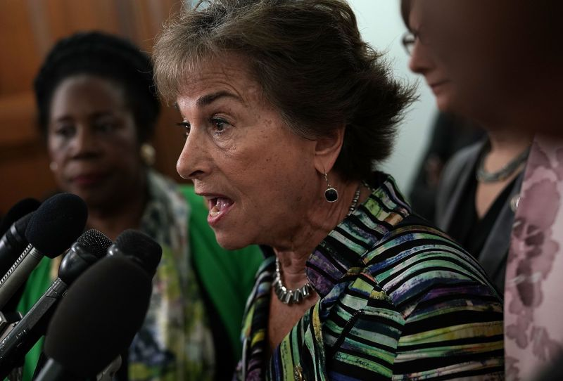 "Rep. Jan Schakowsky (D-Ill.), who collaborated with DeLauro on the ""Medicare for America"" bill, is a longtime advocate of gov"