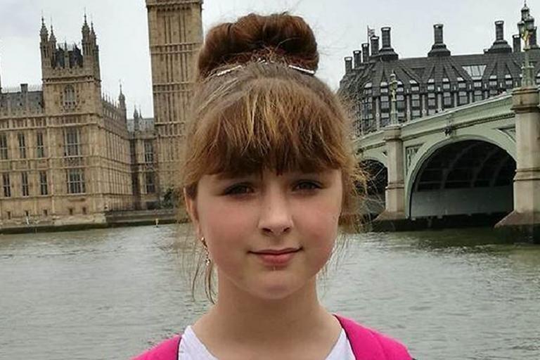 Viktorija Sokolova was murdered by a 16-year-old boy in April last year