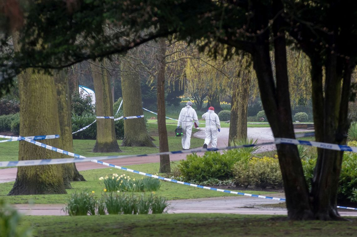 The 14-year-old's battered body was found in Wolverhampton's West Park