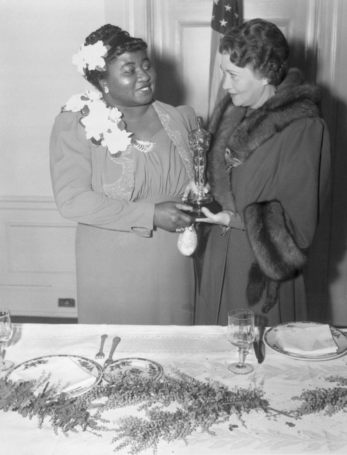 Gone With The Wind actress Hattie McDaniel's Best Supporting Actress win at the 12th Academy Awards was a particularly important one, as she became the first African-American to take home an Oscar for her role as Mammy, the head slave at the O'Hara family's plantation.While many refer back to this as a progressive moment, it should be noted that Hattie's win came at a time when segregation was still in place. This meant she was not able to sit with her Gone With The Wind co-stars during the ceremony, with film producerDavid O. Selznick having to call in a favour for her to be allowed to attend at all.Precious actress Mo'nique paid homage to Hattie when she picked up the same award 70 years later.