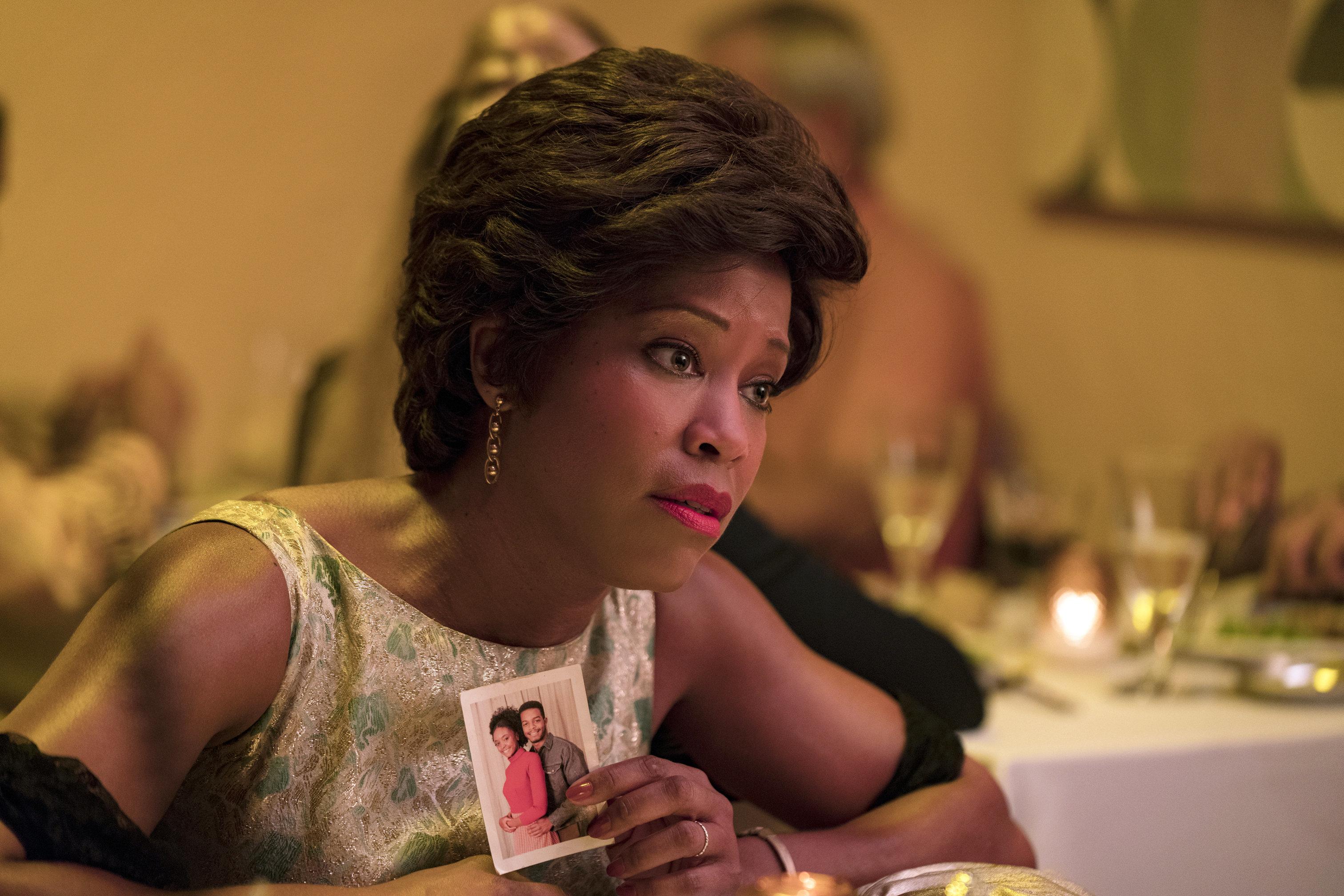 "Regina King in ""If Beale Street Could Talk."""