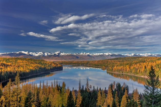 Cory Gardner Flathead National Forest in western Montana is one of hundreds of projects around the country funded by the Land and Water Co