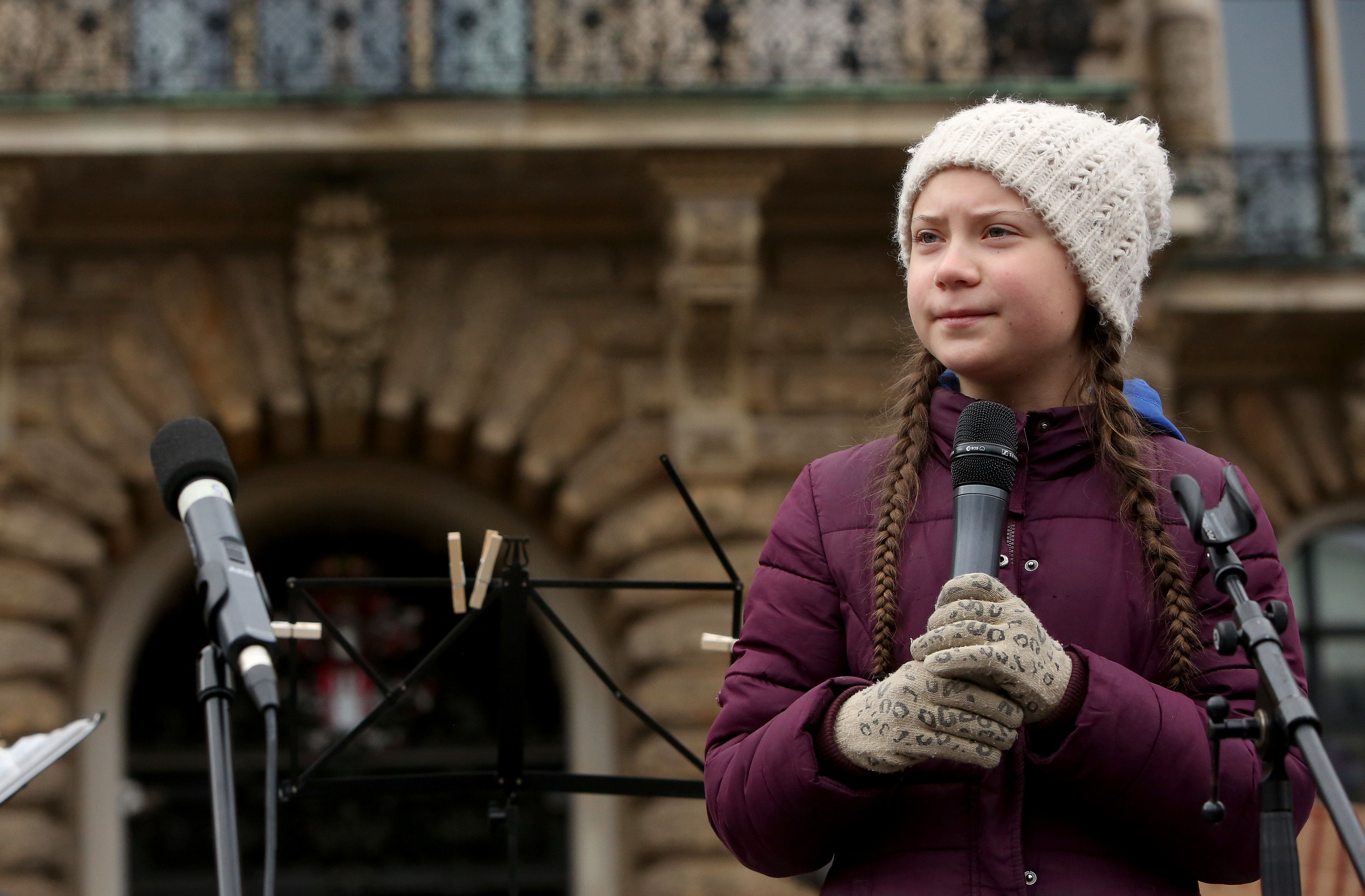 16 Year Old Climate Activist Greta Thunberg Nominated For