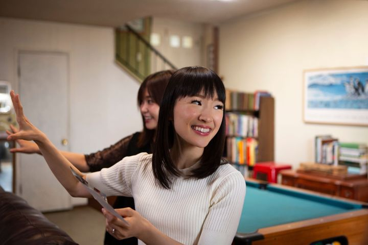 """Tidying Up With Marie Kondo"" on Netflix."