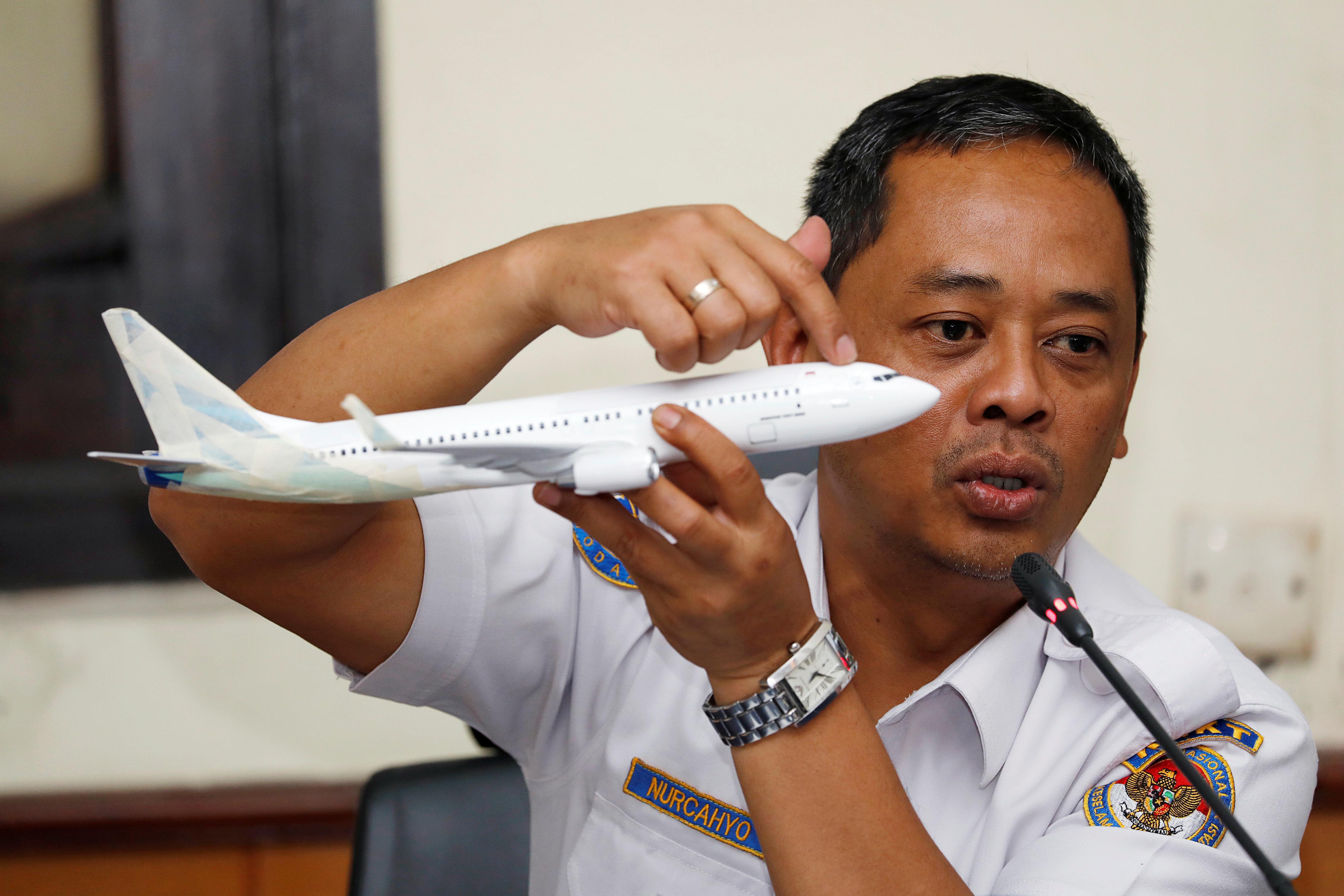 Nurcahyo Utomo, chef du sous-comité chargé des accidents aériens du Comité...