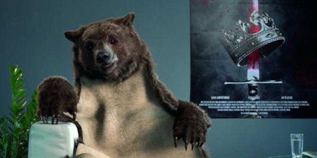 dans la peau d ours de canal plus