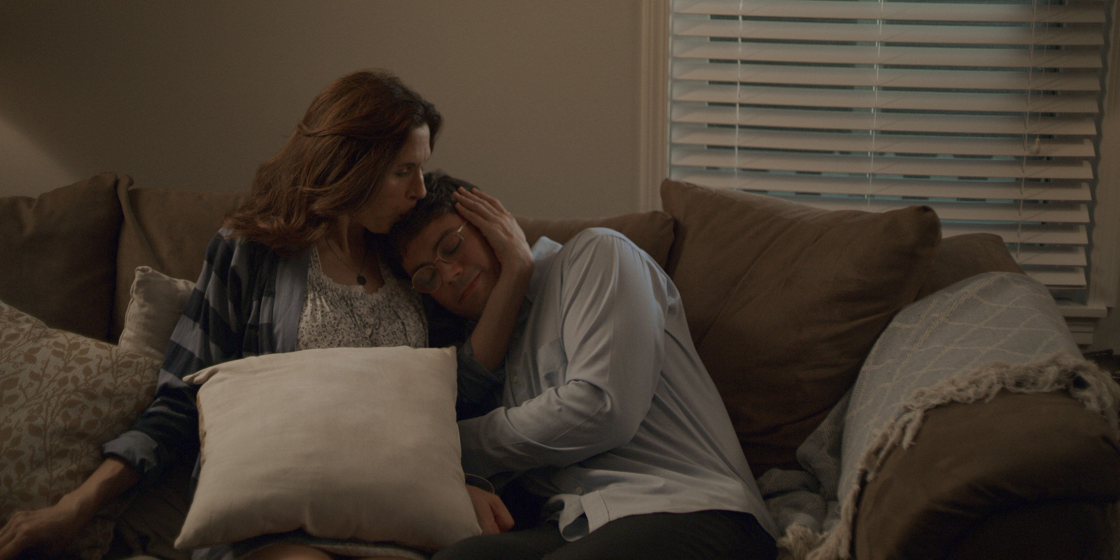 Throughout the series, Ryan finds solace in the loving, but fiercely co-dependent, arms of his mother (Jessica Hecht).
