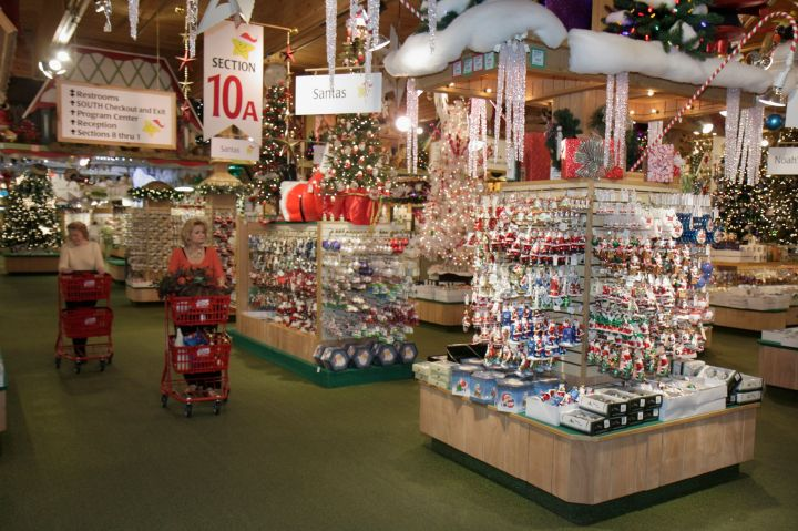 """Frankenmuth, Michigan, is home to Bronner's Christmas Wonderland, which claims to be the """"world's largest Christmas store."""""""