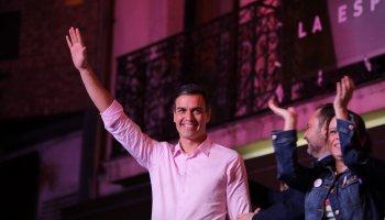 La victoria del PSOE dibuja una España de