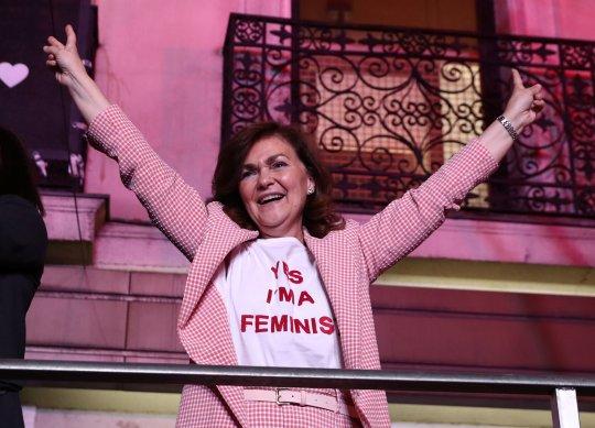 Carmen Calvo fea
