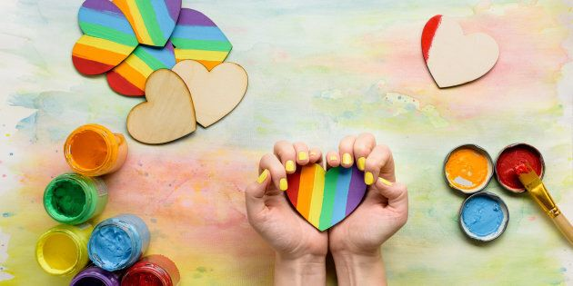 13 Rainbow Craft Ideas To Help Kids Celebrate Pride Huffpost Canada Parents