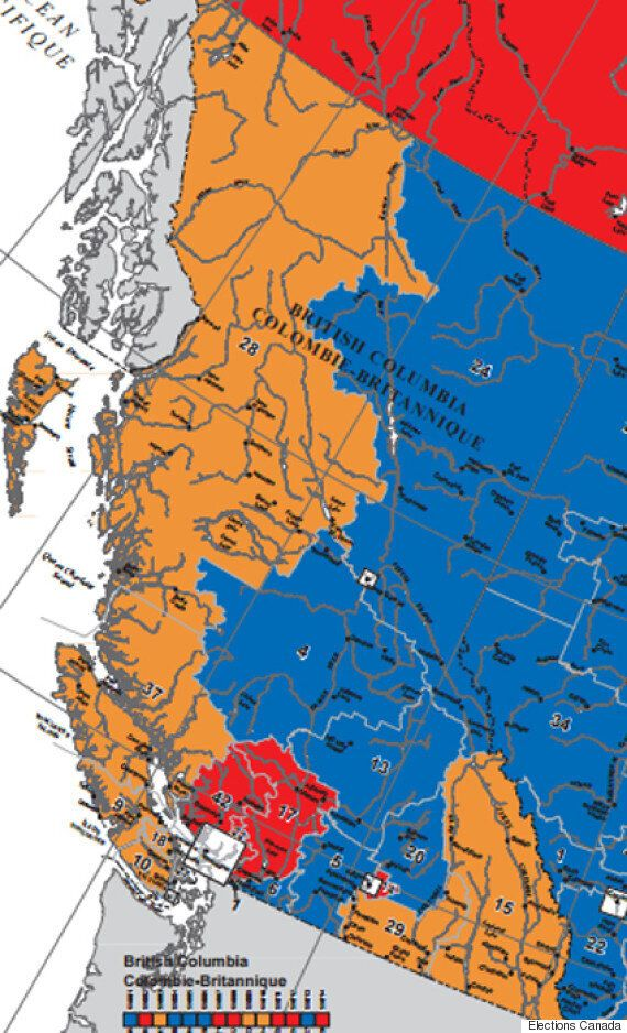 Canadian Election Map : canadian, election, Canada, Election, Before, After, Canadians, Voted, HuffPost, Politics