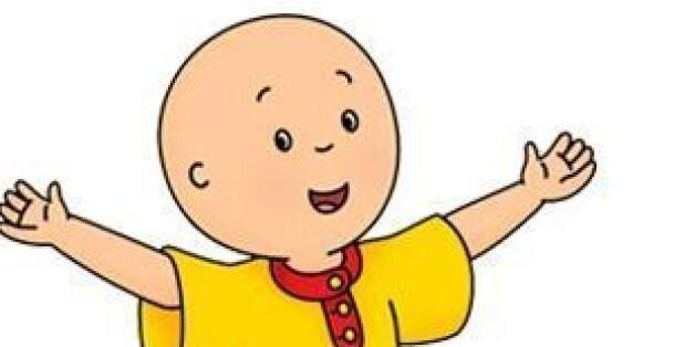 why is caillou bald