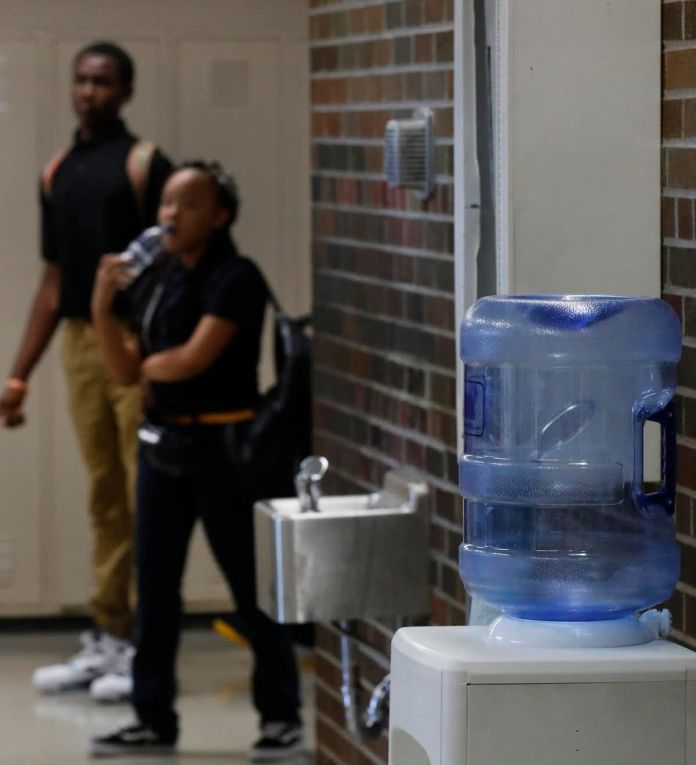 Some 50,000 Detroit public school students started the 2018 school year drinking water from coolers after the discovery of el