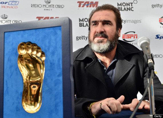 Inauguration du temple du foot avec eric cantona sur nantes.maville.com : Eric Cantona Manchester United Legend Receives Golden Foot Laureate Pictures Huffpost Uk