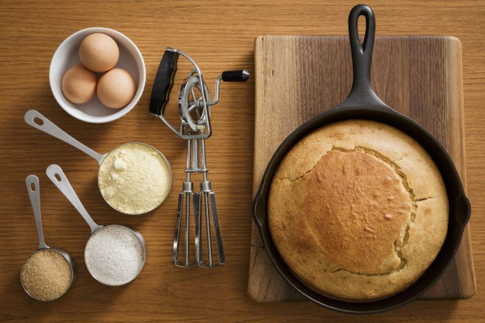 Many cornbreads are made with bacon fat or lard. (Even your store-bought mixes aren't safe: Jiffy contains...