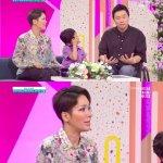 강원래 김송 부부가 결혼 11년 만에 얻은 아들과 함께 방송에 출연했다