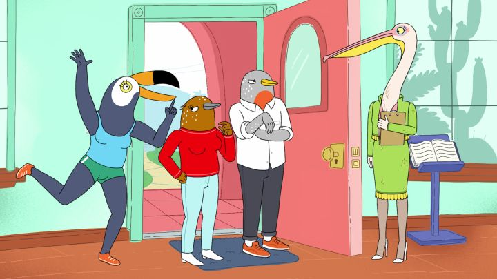 "The first and only season of ""Tuca & Bertie."""