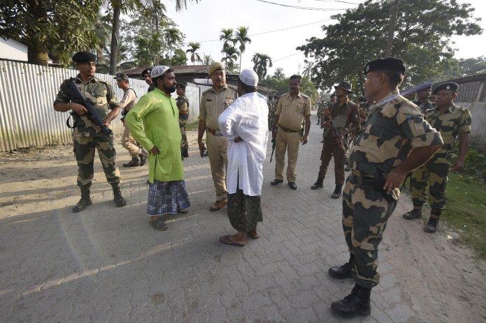 Craignant des perturbations en marge de la publication du registre de la citoyenneté indienne, les autorités ...