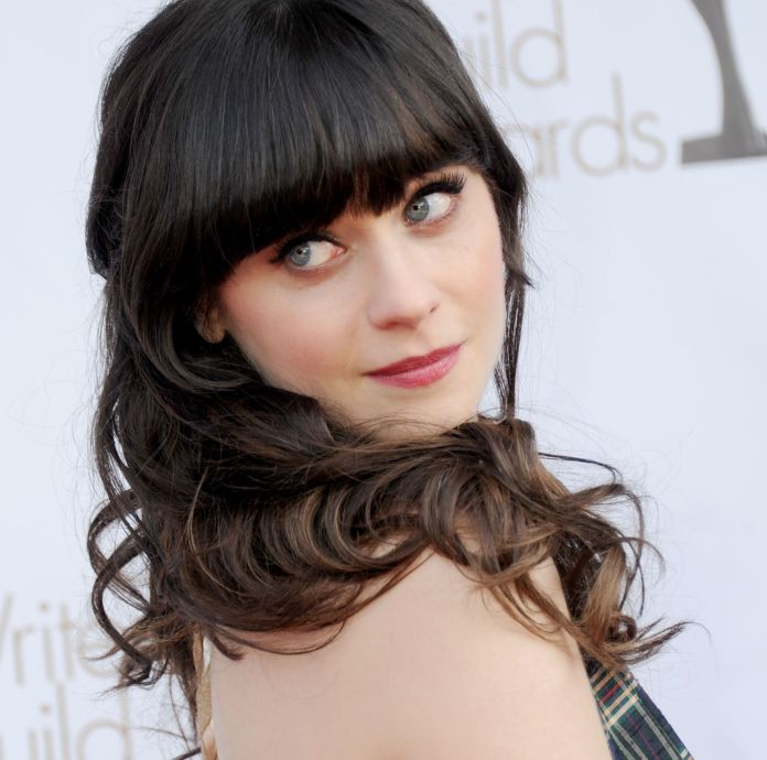 Zooey Deschanel embodies the manic pixie girl persona to a T.