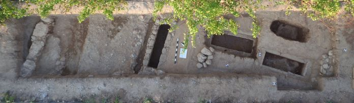 Παρόδιο νεκροταφείο στην περιοχή Μερκούρη (κλασική – πρώιμη ελληνιστική