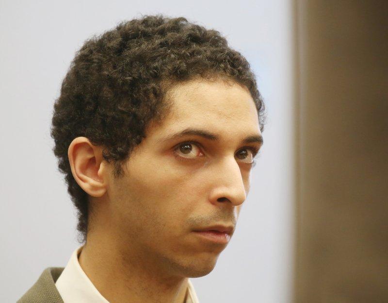 지난 3월 22일 법원에 출두한 타일러 배리스.