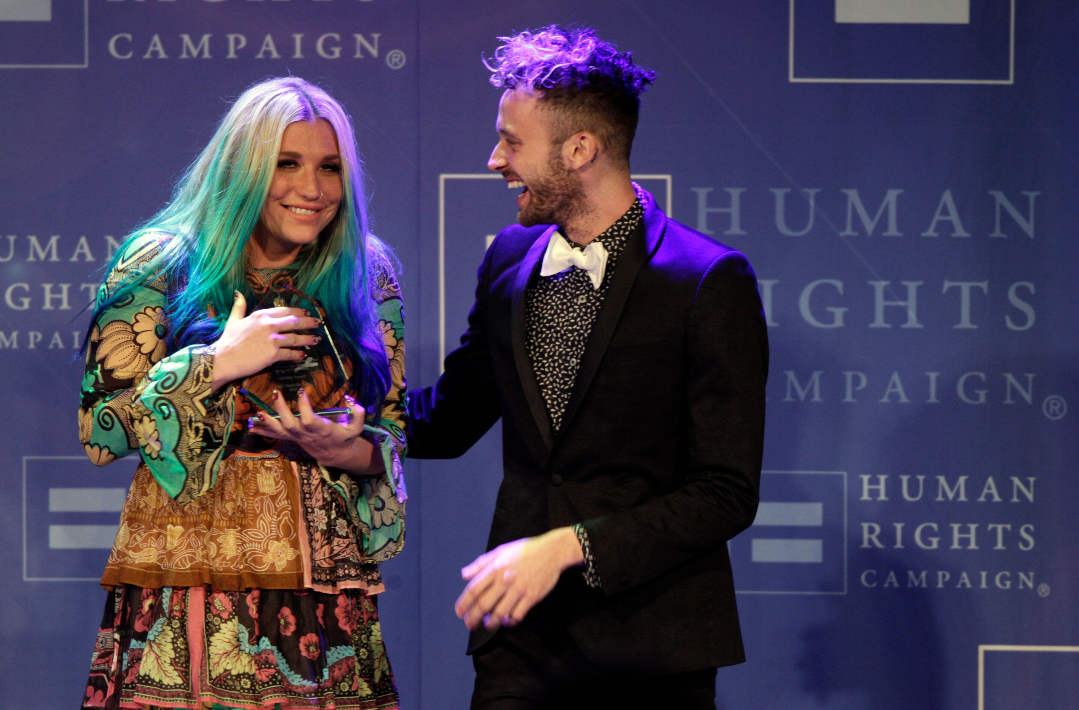 "Wrabel co-wrote two tracks on Kesha's 2017 album, ""Rainbow."" The pair also wrote ""Here Comes the Change"" for the 2018 Ruth Ba"